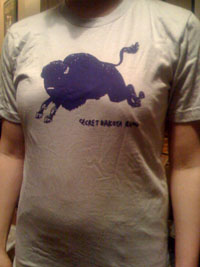 SECRET DAKOTA RING Buffalo TShirt